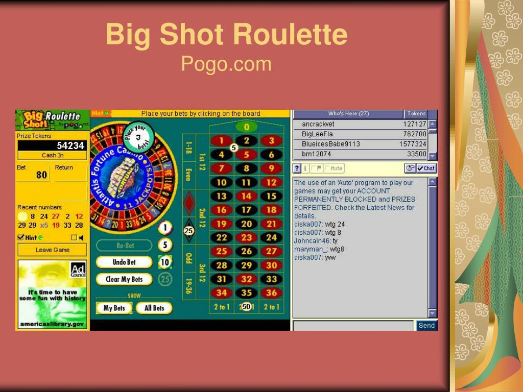 Big Shot Roulette