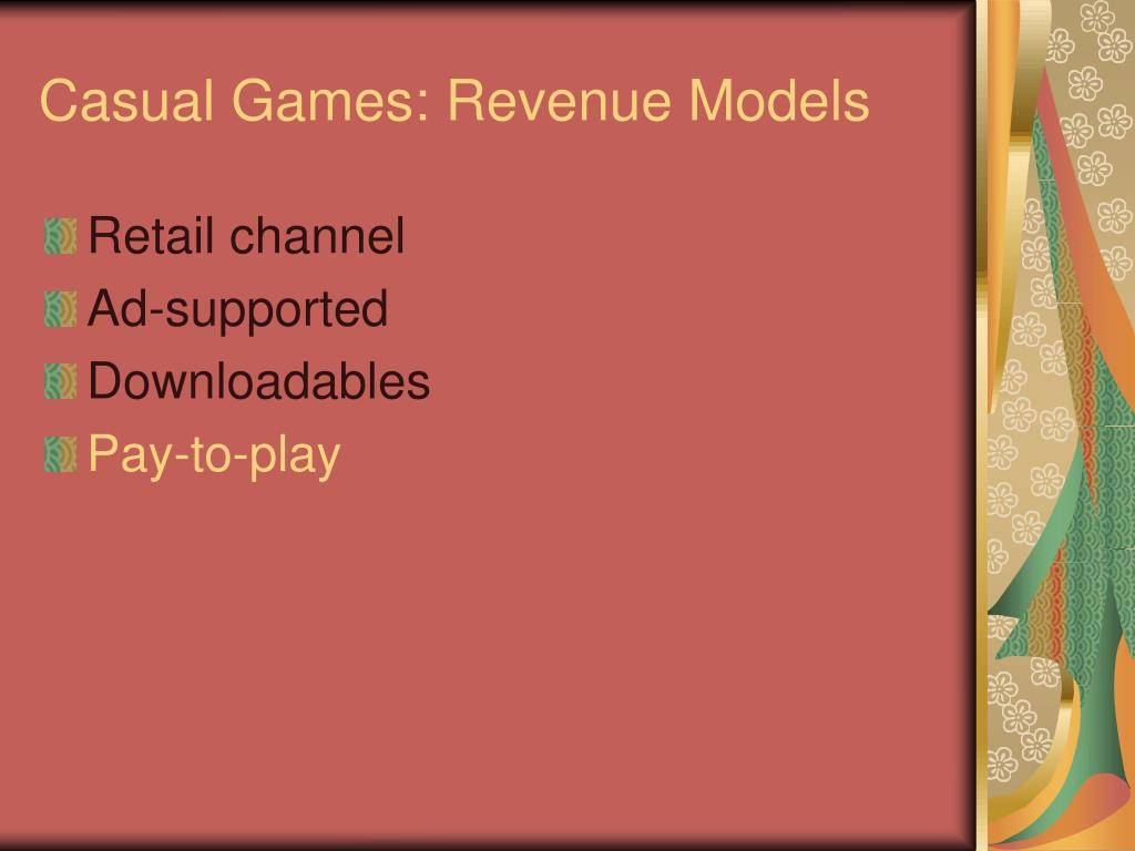 Casual Games: Revenue Models