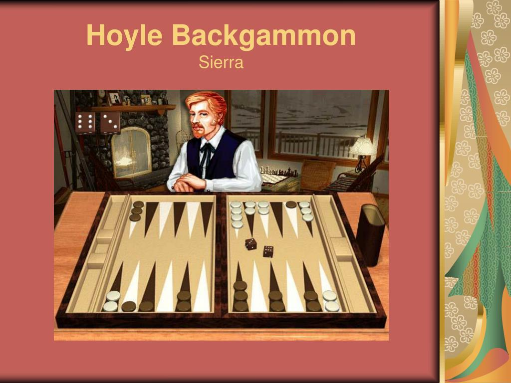 Hoyle Backgammon
