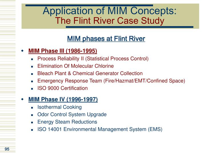 Application of MIM Concepts: