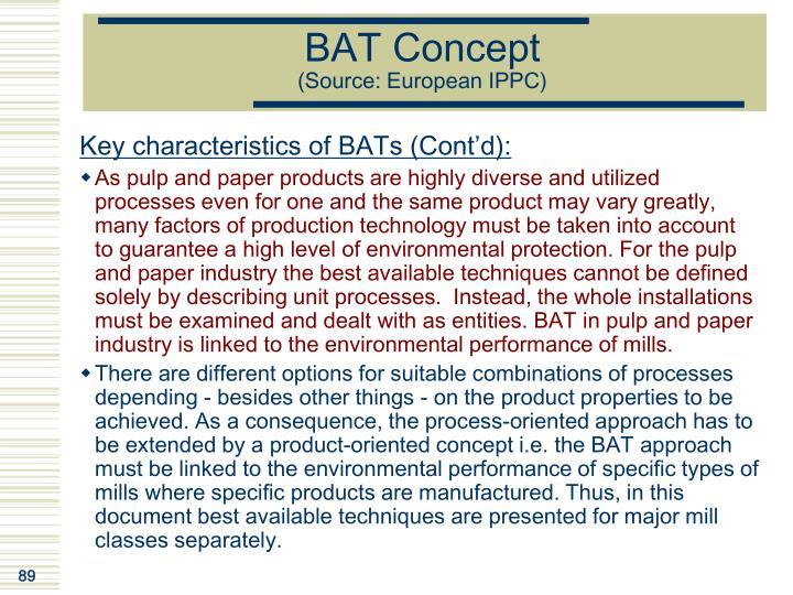 BAT Concept