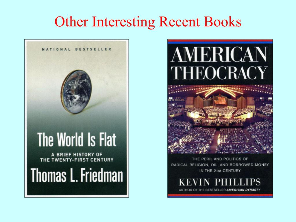 Other Interesting Recent Books