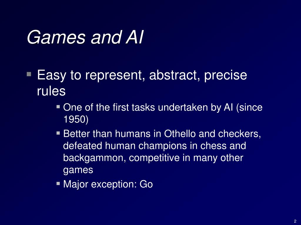 Games and AI
