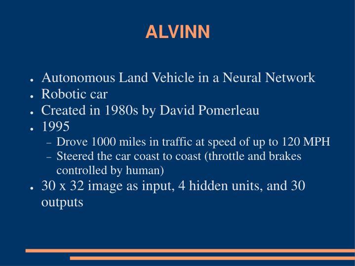 ALVINN