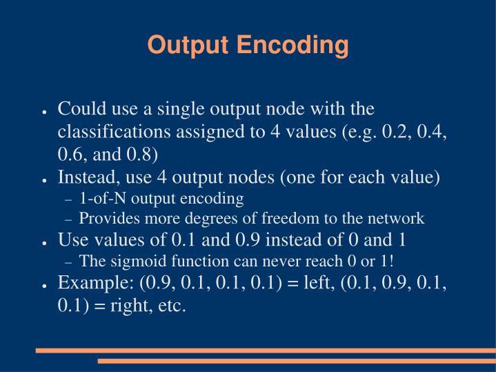 Output Encoding