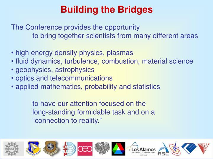 Building the Bridges