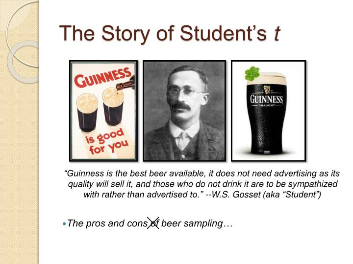 The story of student s t