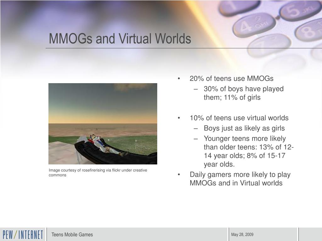 MMOGs and Virtual Worlds
