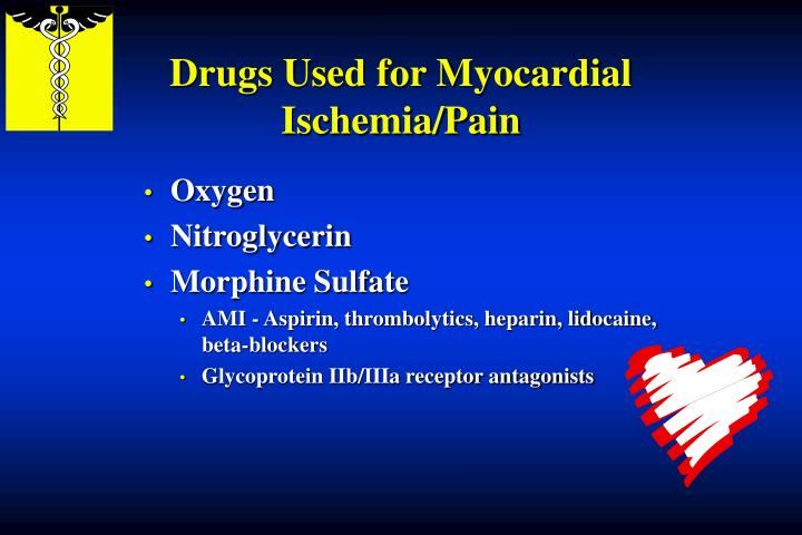Drugs Used for Myocardial Ischemia/Pain
