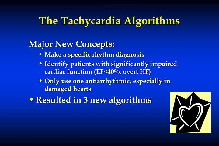 The Tachycardia Algorithms