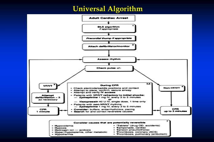 Universal Algorithm