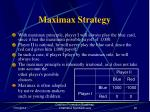 maximax strategy19