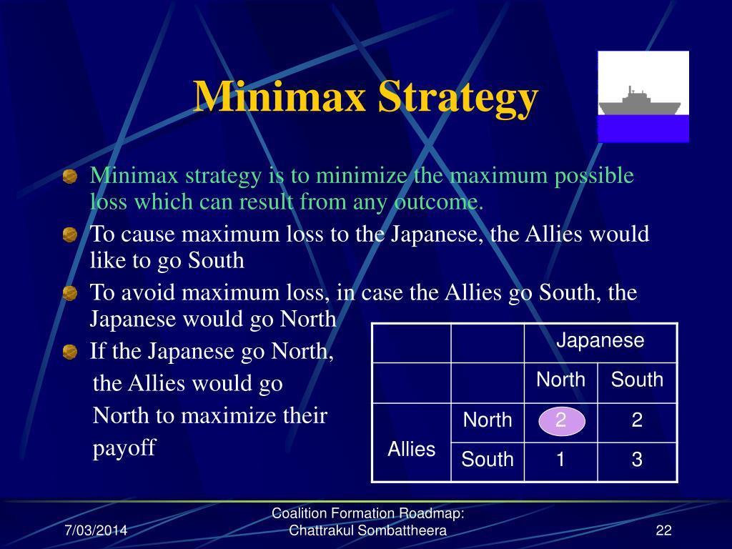 Minimax Strategy