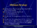 minimax strategy30