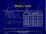 shapley value84