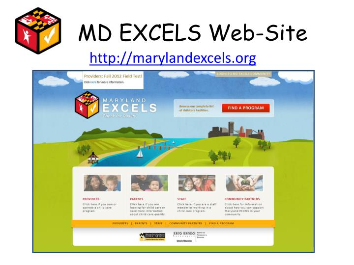MD EXCELS Web-Site