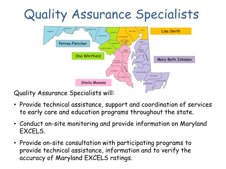 Quality Assurance Specialists