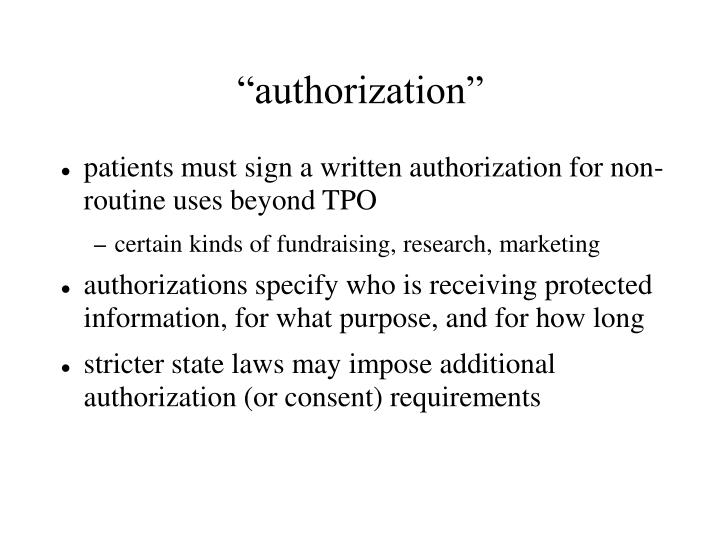 """authorization"""