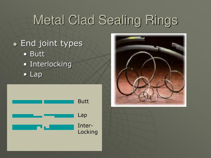 Metal Clad Sealing Rings