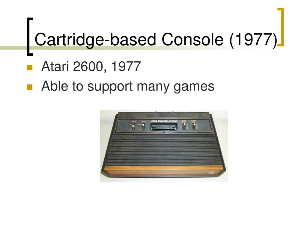 Atari 2600, 1977