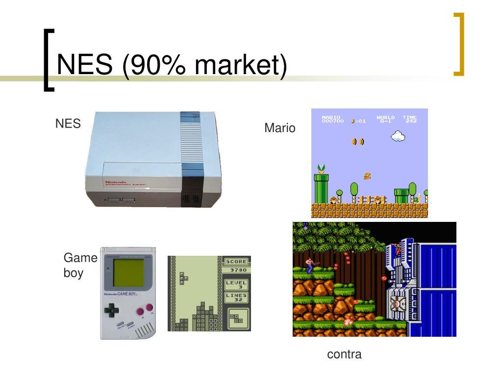NES (90% market)