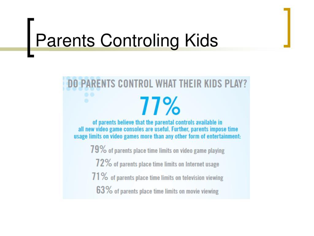 Parents Controling Kids