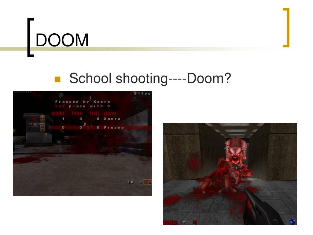 School shooting----Doom?