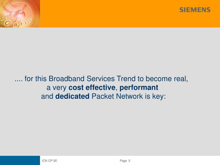 .... for this Broadband Services Trend to become real,