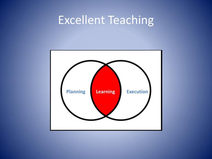 Excellent Teaching