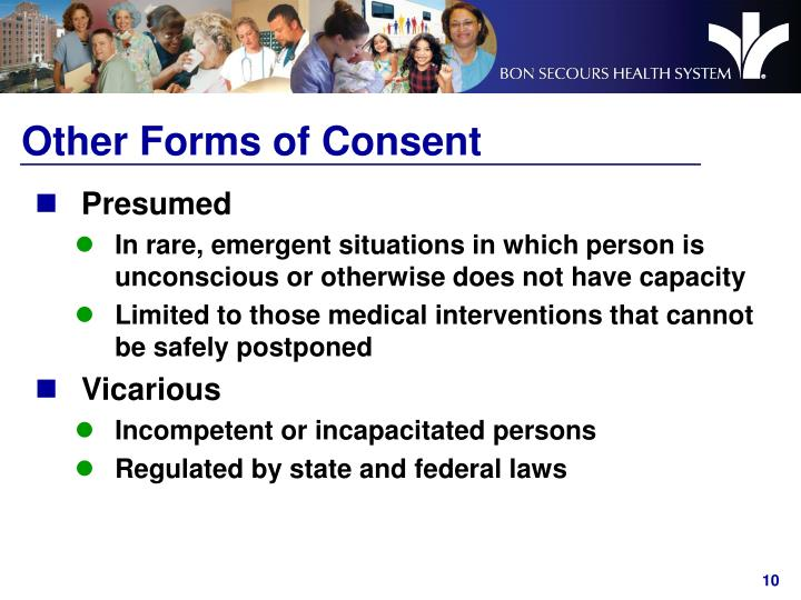 Other Forms of Consent