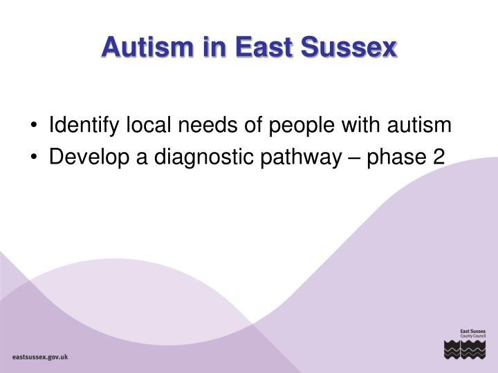 Autism in East Sussex