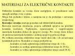 materijali za elektri ne kontakte