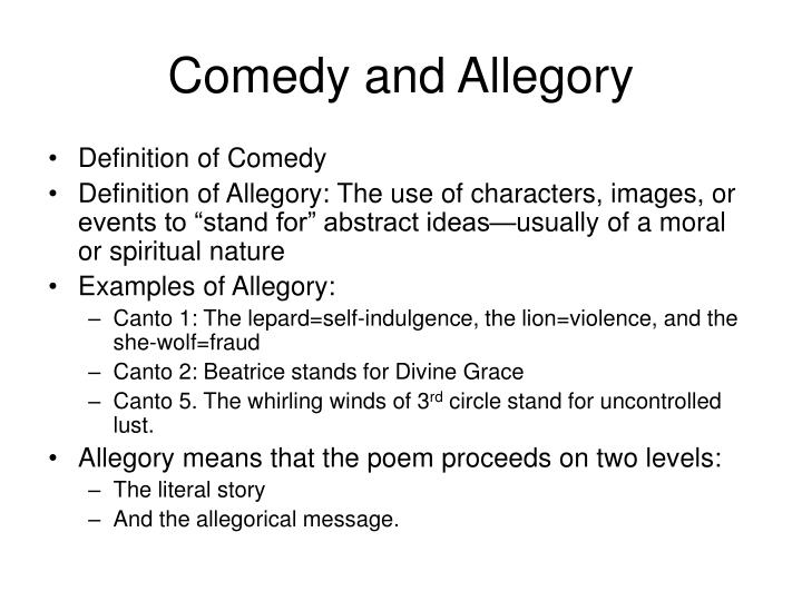 Allegory definition