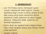 1 memberkati