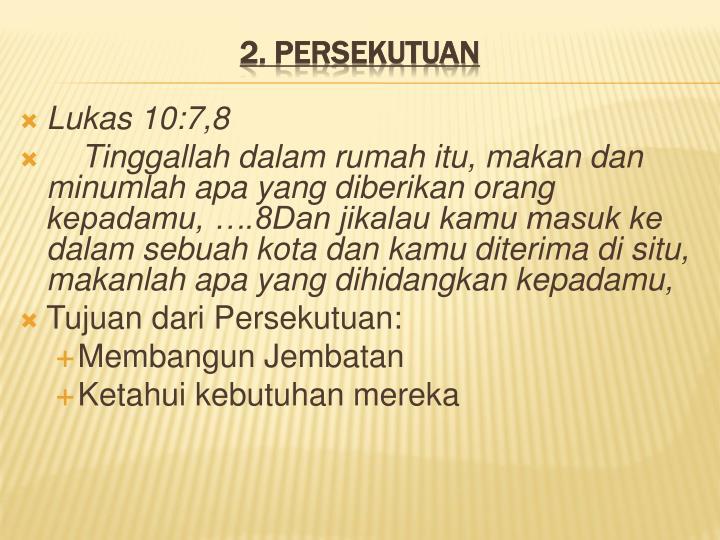 Lukas 10:7,8