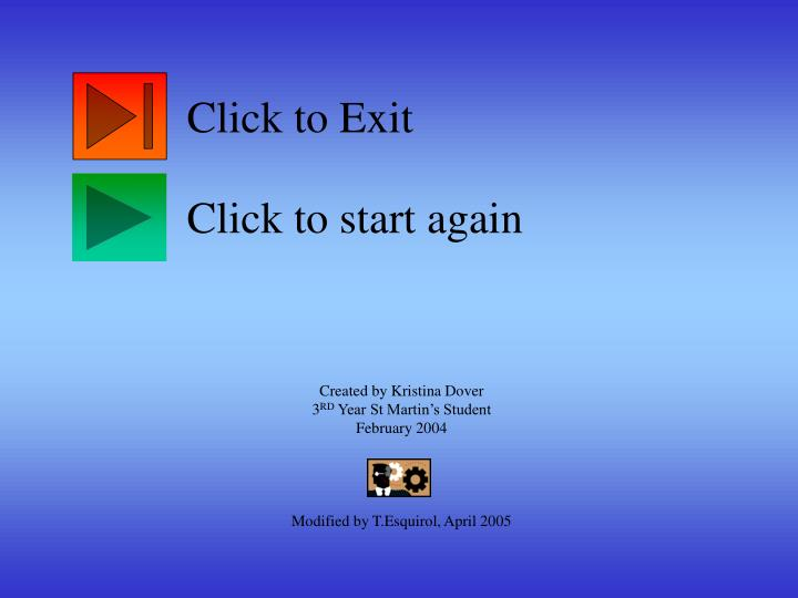 Click to Exit