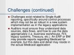 challenges continued1