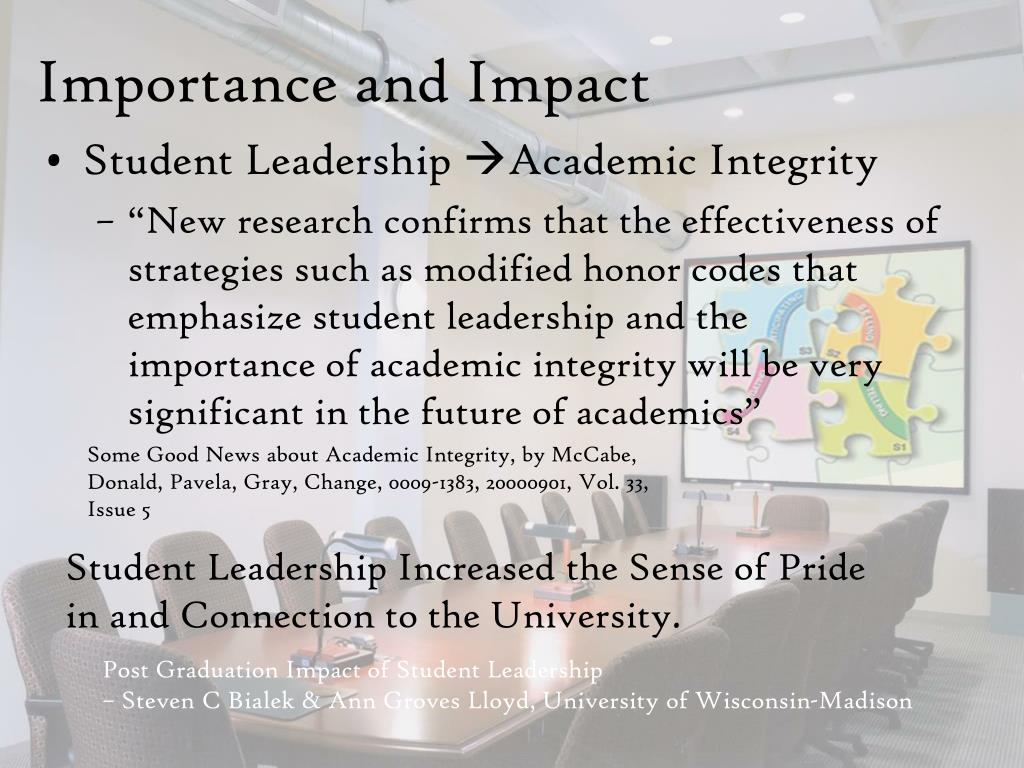 Importance and Impact