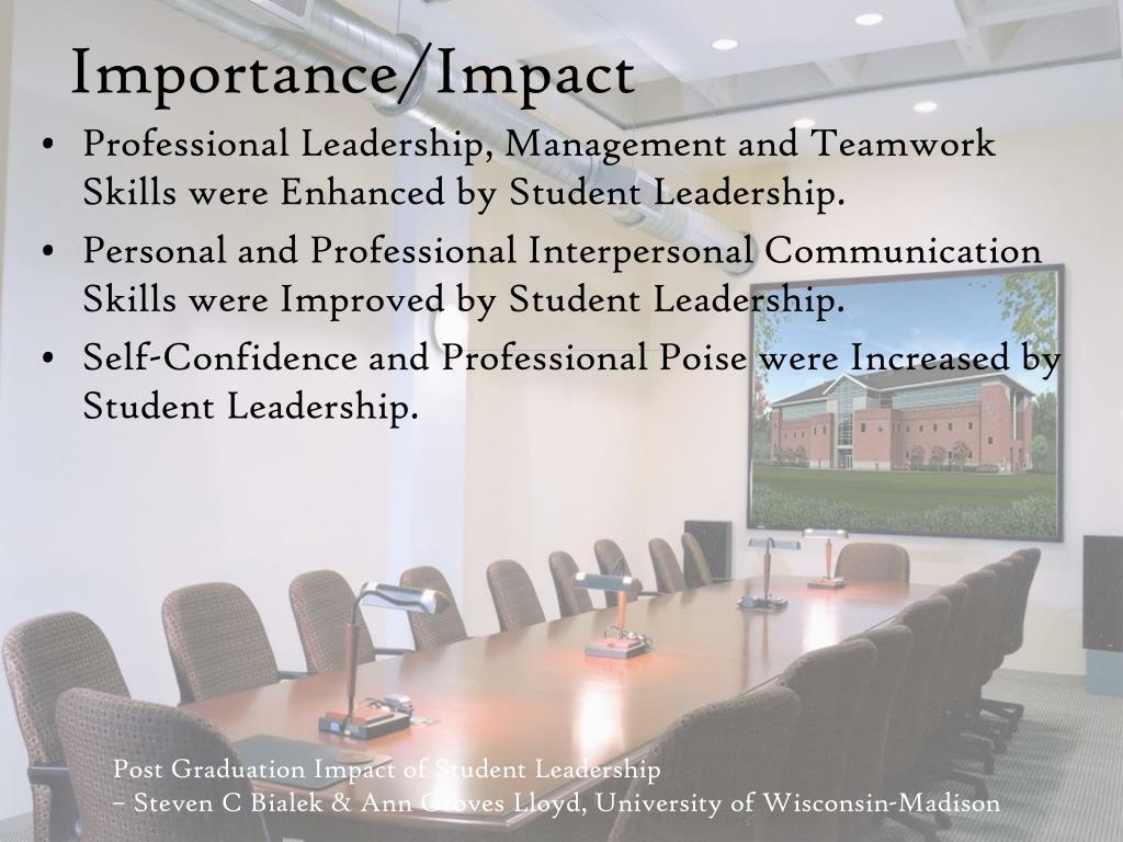 Importance/Impact