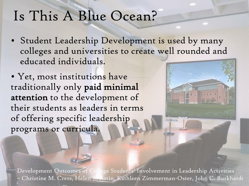 Is This A Blue Ocean?