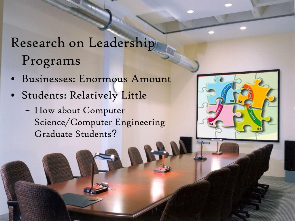 Research on Leadership Programs