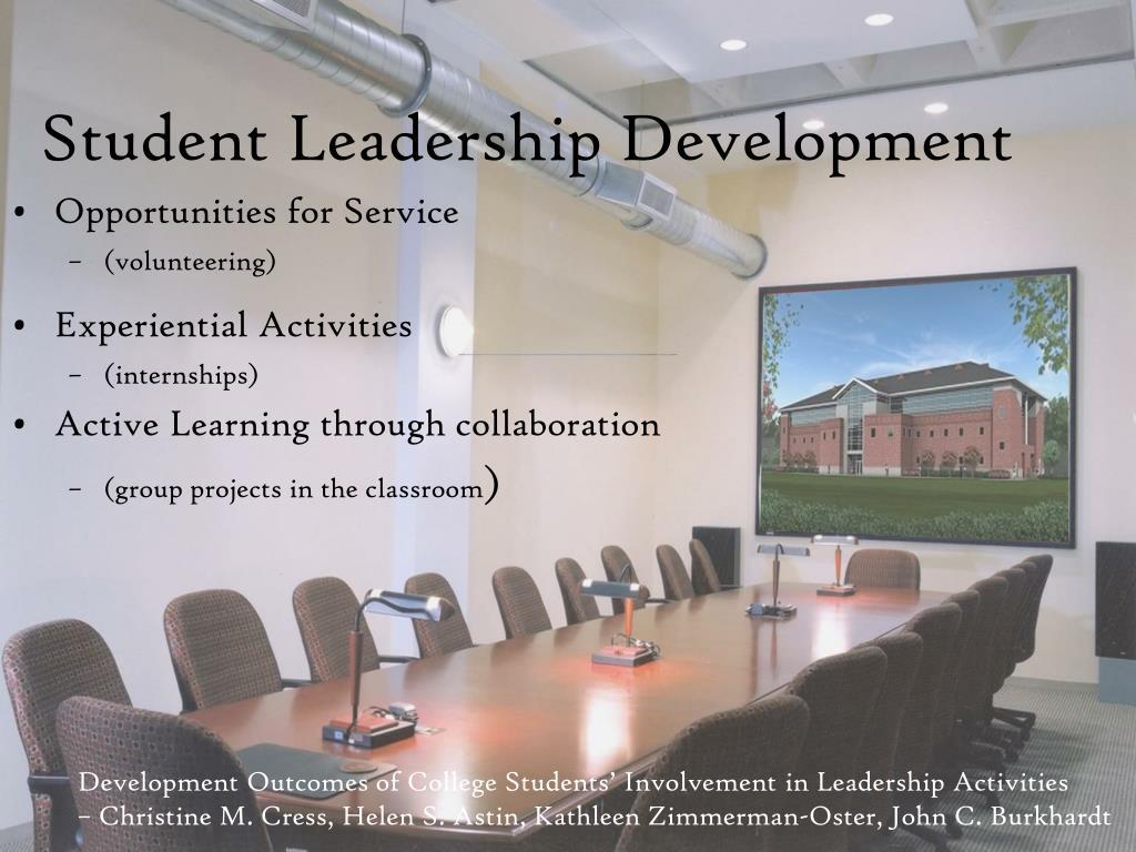 Student Leadership Development