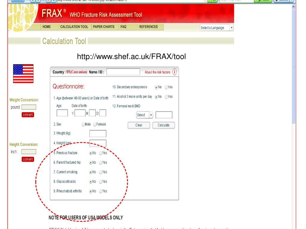 The FRAX