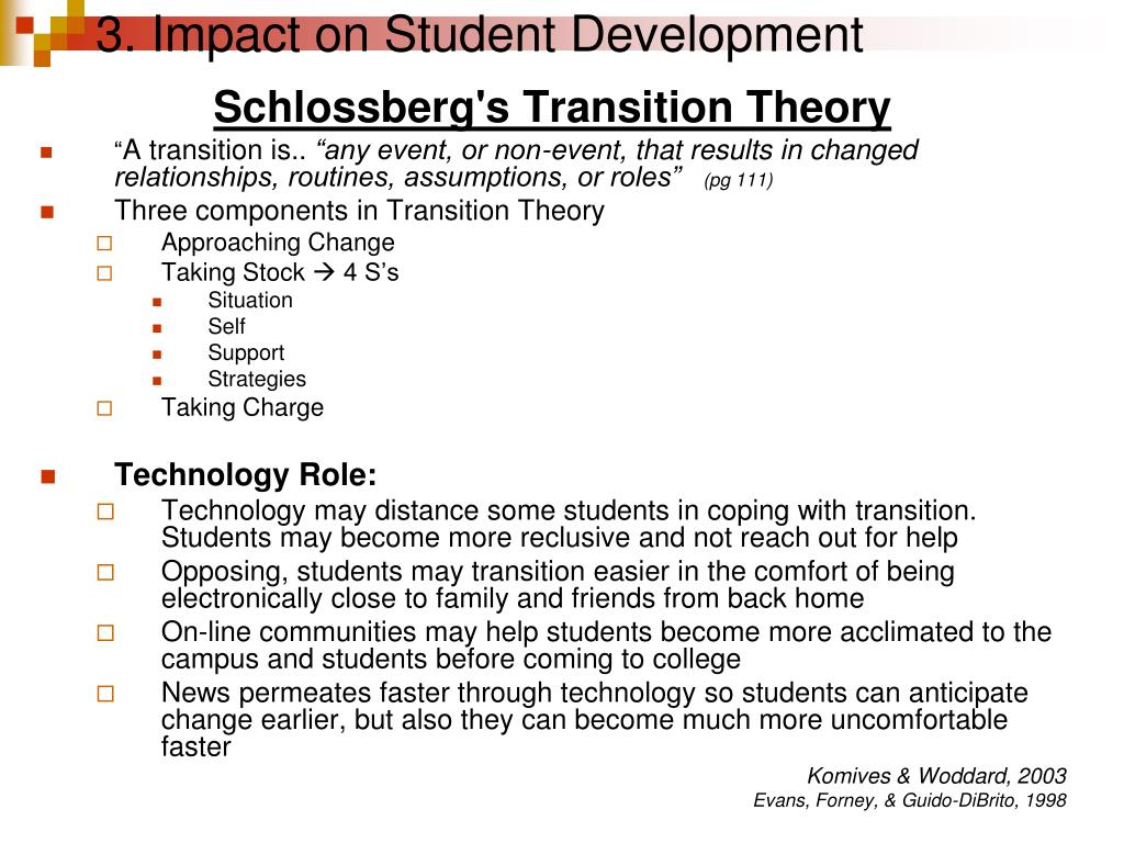 3. Impact on Student Development