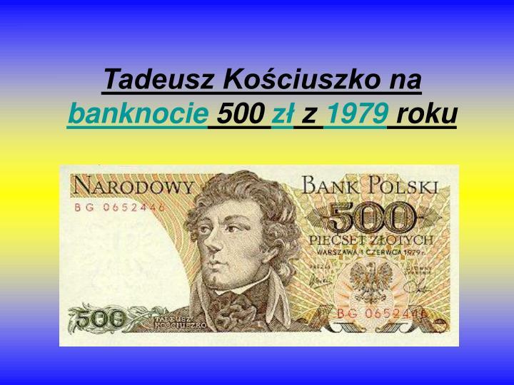 Tadeusz Kościuszko na