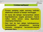 1 internalisasi