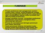 7 inovasi