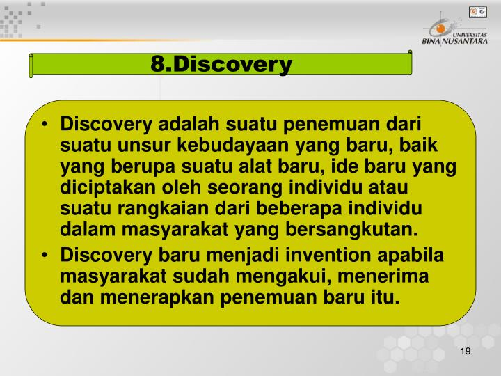 8.Discovery