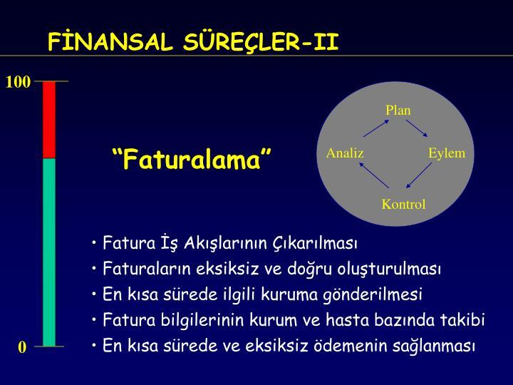 FİNANSAL SÜREÇLER-II