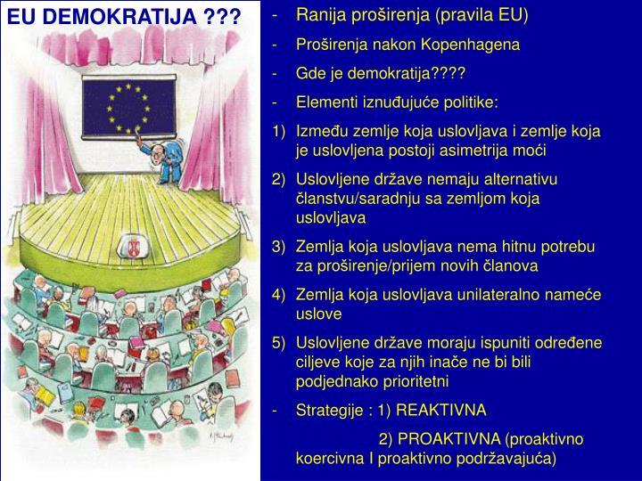 EU DEMOKRATIJA ???